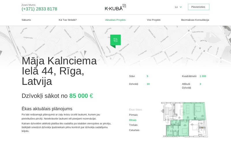 The project page of K-Kubā